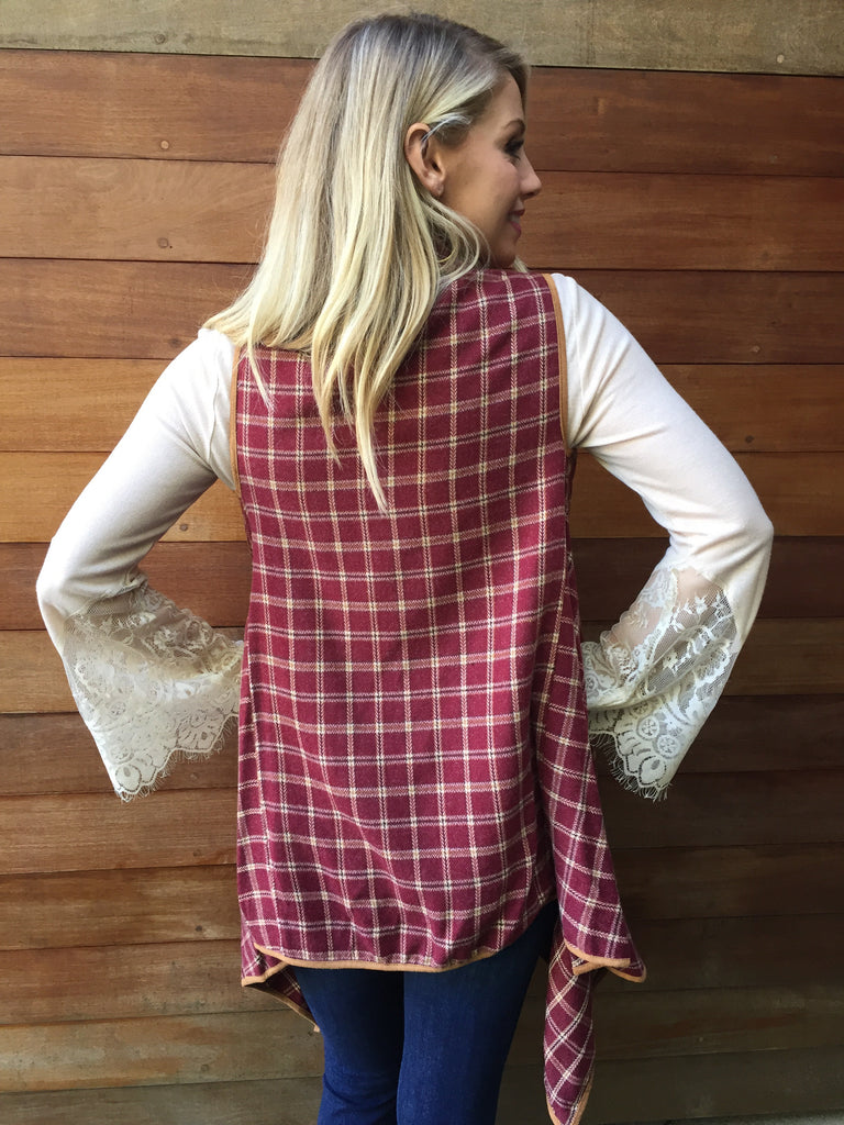The Bella Vest-FINAL SALE