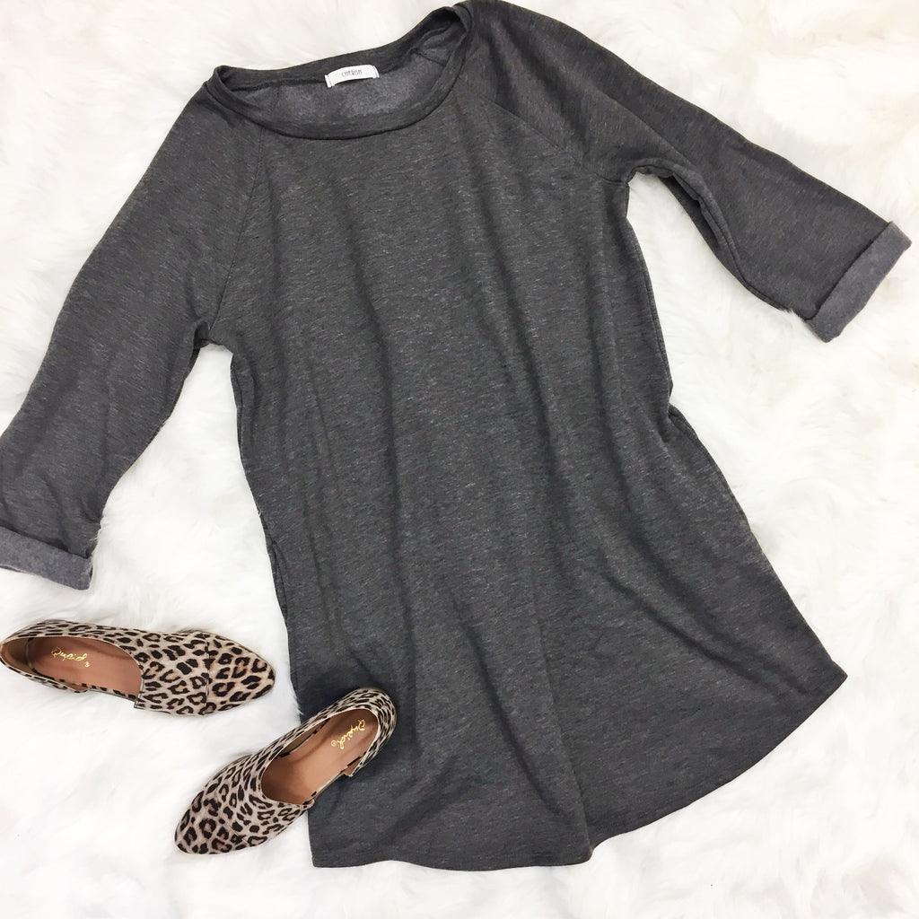 The Jenny Sweatshirt Dress