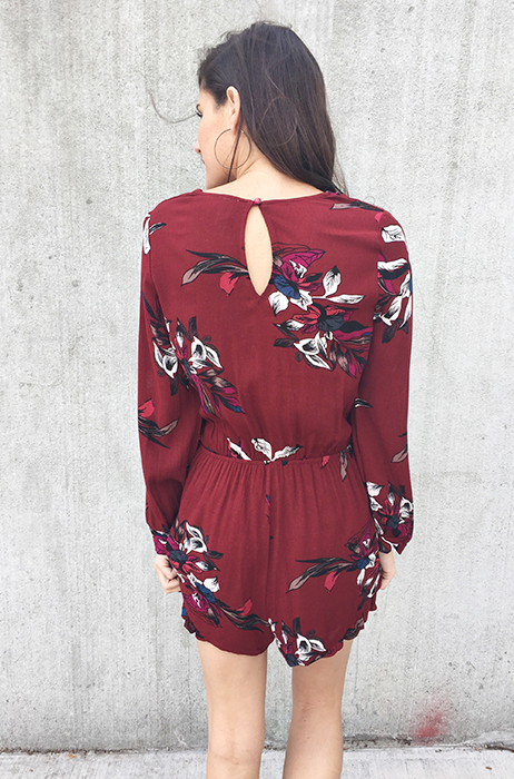 The Logan Romper - FINAL SALE