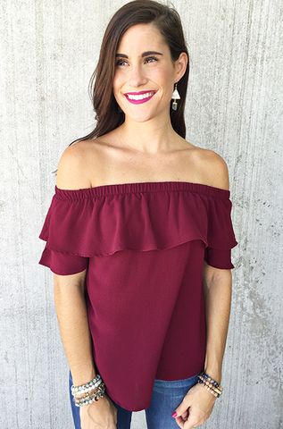 The Mabel Top [WINE]