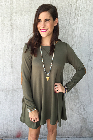 The Marissa Dress [OLIVE]