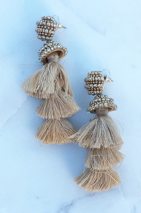 The Olivia Tassel Earrings [GOLD]