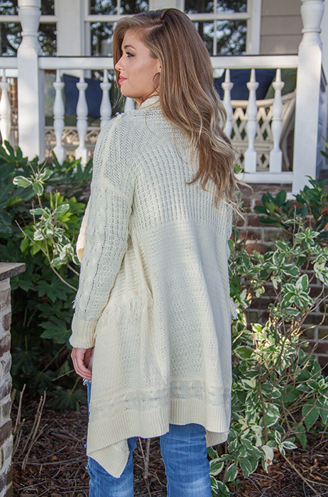 The Steph Sweater [IVORY]