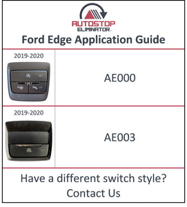 2019-2021 Ford Edge Autostop Eliminator