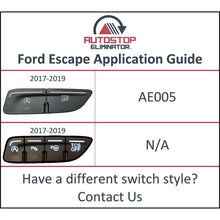 Load image into Gallery viewer, 2017-2019 Ford Escape Autostop Eliminator
