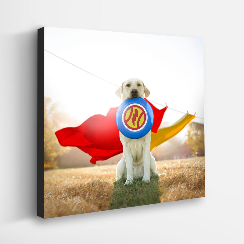 """HERO"" Yellow Labrador Retriever Art"