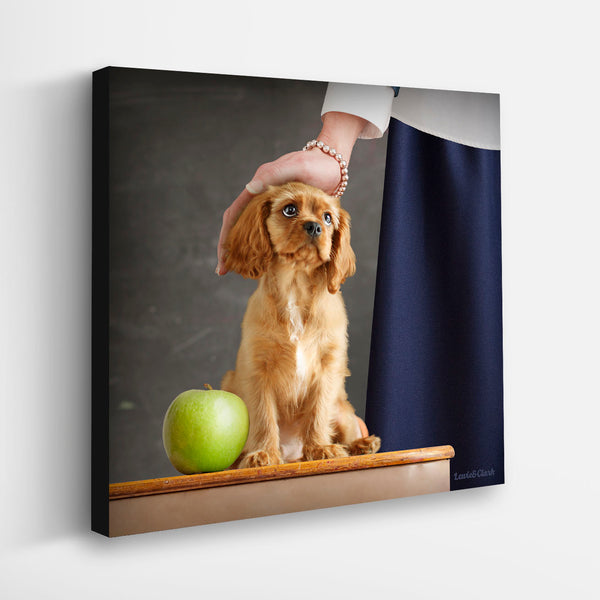 """LUCY"" Cavalier King Charles Spaniel Art"