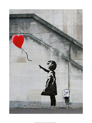 Banksy - La fillette au ballon rouge