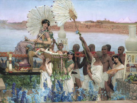 Alma Tadema Lawrence - The finding of Moses