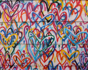 Graffiti- Hearts, New York