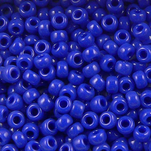 Lapis Opaque Seed Beads (Size 6)