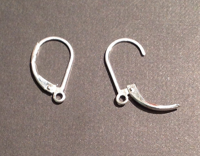 Sterling Silver Leverbacks