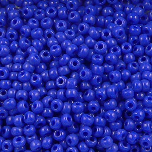 Cobalt Seed Beads (Size 11)