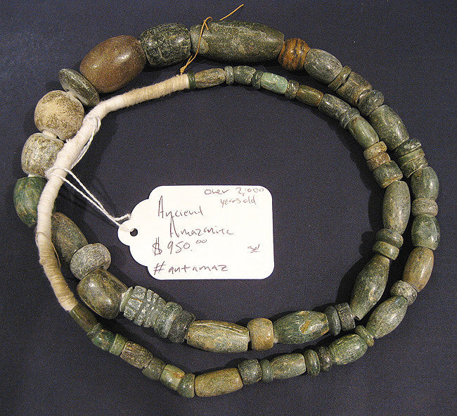 Ancient Amazonite Strand