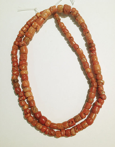 Ancient African Coral Beads