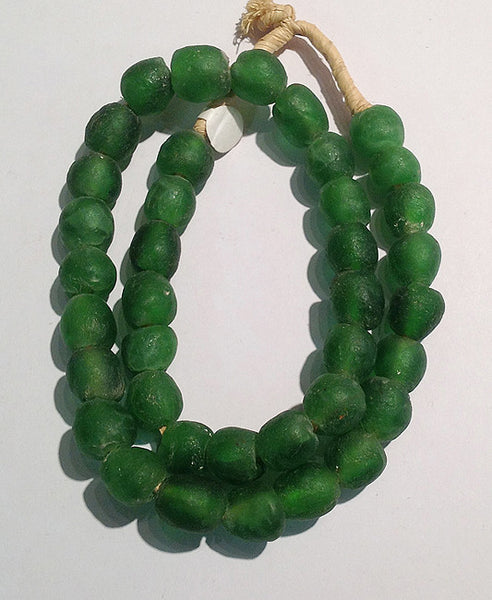 African Sea Glass Beads (Large)