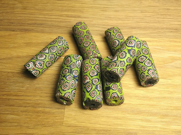 Loose Trade Beads - Green Eye