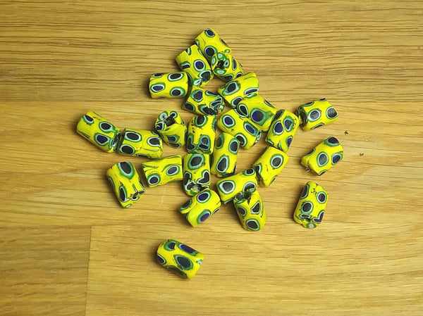 Loose Trade Beads - Yellow Eye