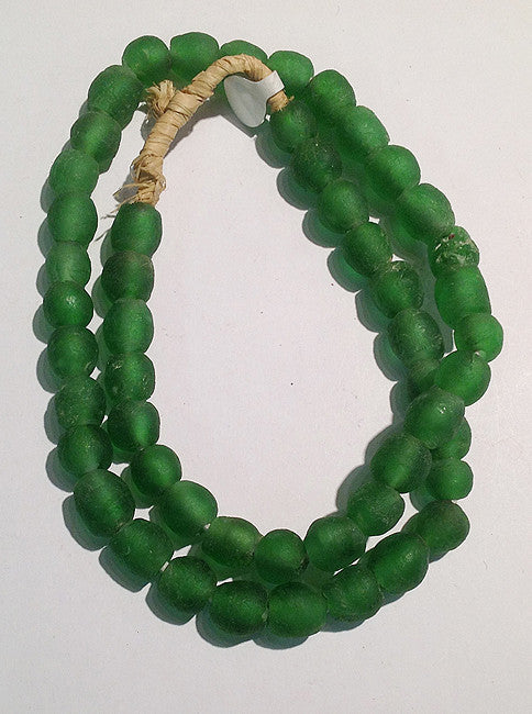African Sea Glass Beads (Medium)