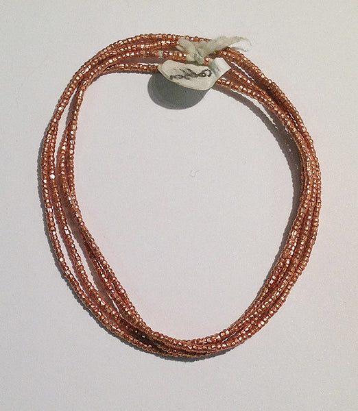 Copper Seed Beads