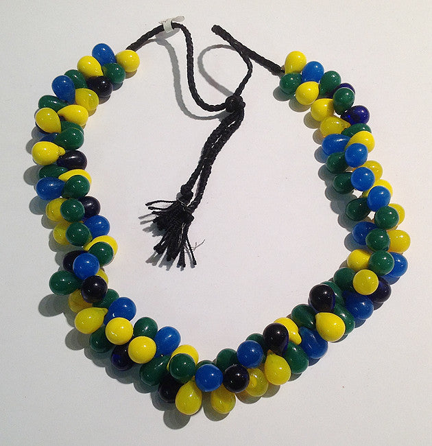 Mali Wedding Beads (Small - Blue/Green/Yellow/Black)