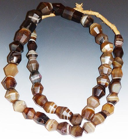 Beautiful Antique African Agate Beads #2