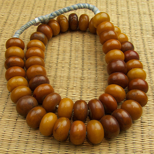 Perfectly Matched African Amber Strand