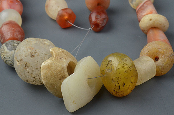 Large Ancient Stone Bead Mix