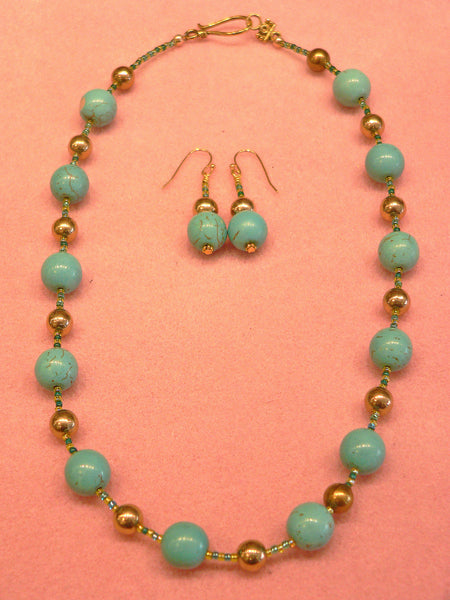 Bead Stringing I: Earrings & Necklace