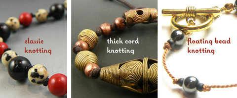 Bead Stringing IV: Knotting