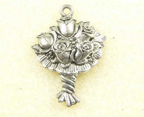 Flower  Bouquet Charm