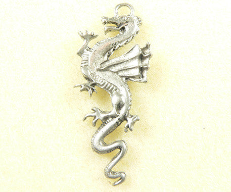 Dragon with Long Tail Charm