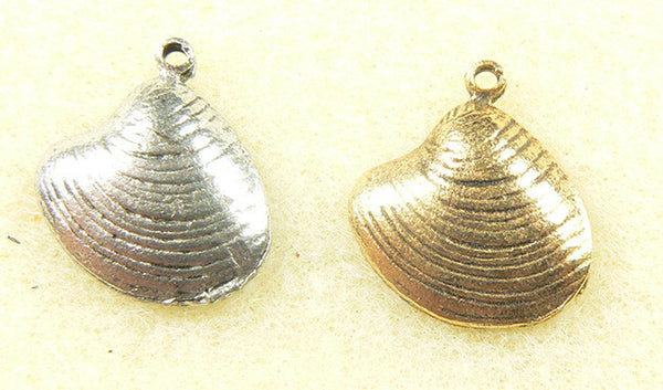 Oyster Shell Charm