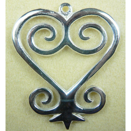 Large Sankofa Symbol Give And Receive Pendant Beadstore