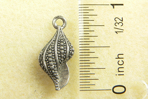 Spotted Conch Shell Charm