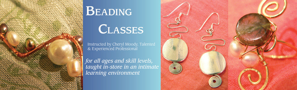 Beading Classes at our Store in Washington, DC
