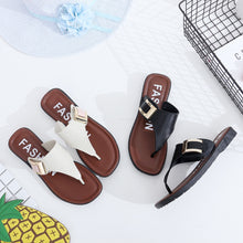 Load image into Gallery viewer, Women Slippers Summer Beach Slippers 2018 Casual Beach Women Slipper Flip Flops Sandals Summer Home Flat Flip Flops Shoes