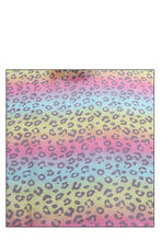 Load image into Gallery viewer, Fashion Rainbow Color Leopard Print Scarf