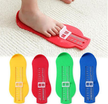 Load image into Gallery viewer, Baby Souvenirs Foot Shoe Size Measure Gauge Tool Device Measuring Ruler Novelty Footprint Makers Fun Funny Gadgets Birthday Gift