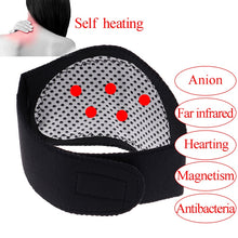Load image into Gallery viewer, Self Heating Neck Massager Tourmaline Magnetic Therapy Neck Massager Vertebra Protection Spontaneous Heating Belt Body Massager