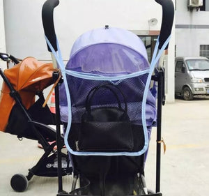 Baby Stroller Carrying Bag Baby Stroller Mesh Bag A Net BB Umbrella Car Accessories Buggies
