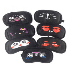 Load image into Gallery viewer, Cute Soft Eye Mask Travel Home Eye Sleeping Rest Sleep Mask Cover Shade Blinder Blindfold Sleeping Eye Mask