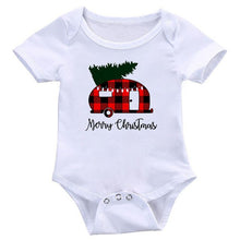 Load image into Gallery viewer, New Arrival Christmas Tree Printed Baby Onesie Bodysuit Newborn Boys Girls Romper Jumpsuit Summer Toddler Infant Outfits Clothes