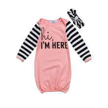 Load image into Gallery viewer, Newborn Infant Baby Girl Outfits Sleep bathrobe cotton Clothes Sleeping Bag Sleepwear super mario pajamas 0-18M