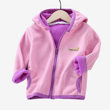 Load image into Gallery viewer, Autumn Winter Jacket for Girls Warm Girl Parka 24M-10Y Teenage Girl Coat Baby Snowsuit Outerwear Toddler Girl Winter Clothes