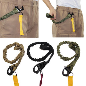Quick Release Safety Lanyard Retractable Retention Lanyards Fall Arrest Safety Harness Hunting Rope Accessories Survival Gear