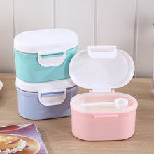 Load image into Gallery viewer, High Capacity Baby Milk Powder Container Melkpoeder Container Baby Food Storage Box Double Layer Infants Feeding Box for Newborn