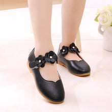 Load image into Gallery viewer, 1-12 Year Old Kids Baby Toddler Flower Children Wedding Party Dress Princess Leather Shoes For Girls School Dance Shoes White
