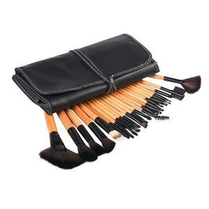 Beauty Makeup Set Tool Professional 15 Colors Face Concealer Contour Platte +1 Cosmetic Sponge Puff+24pcs Pro Makeup Brushes