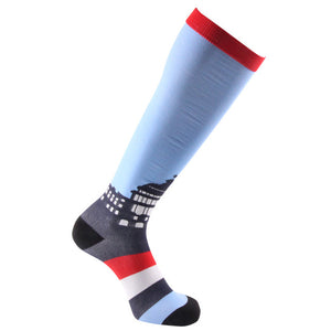 45 Style Men Running Compression Socks Crossfit Medical Pressure Socks Nursing Stockings Golf Socks Outdoor Cycling Sports Socks